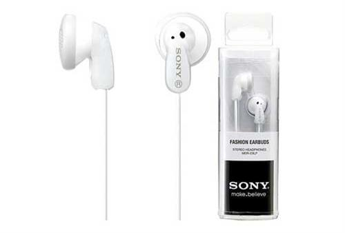 Sony MDR-E9LP In-ear Headphone - White